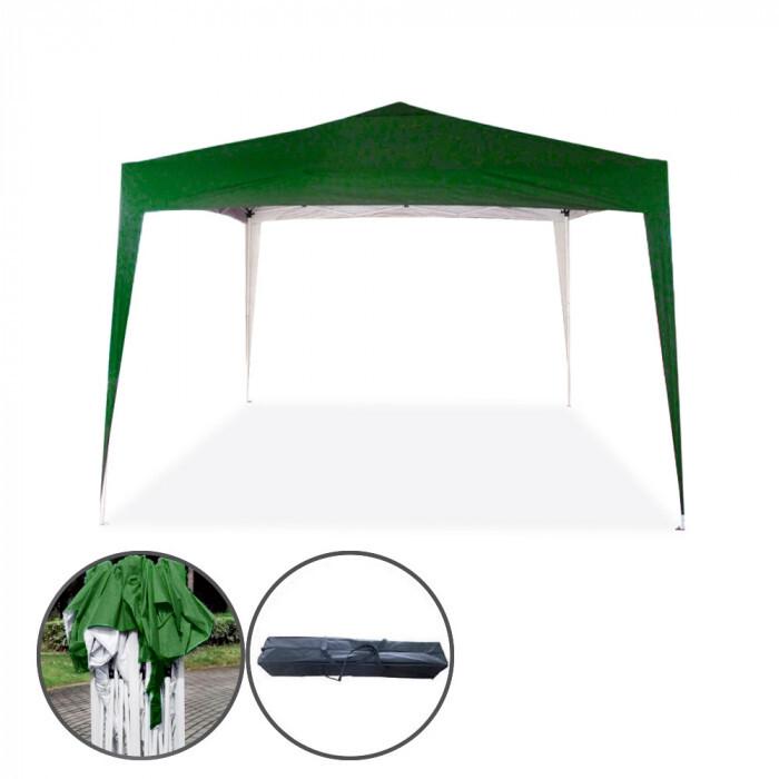 Градинска сгъваема шатра Pop-Up My Garden TLC023-A полиестер 3х3м зелена