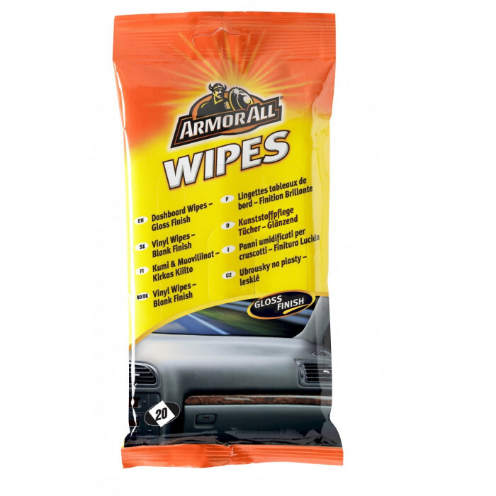 Мокри кърпи за табло Аrmorall 20 броя