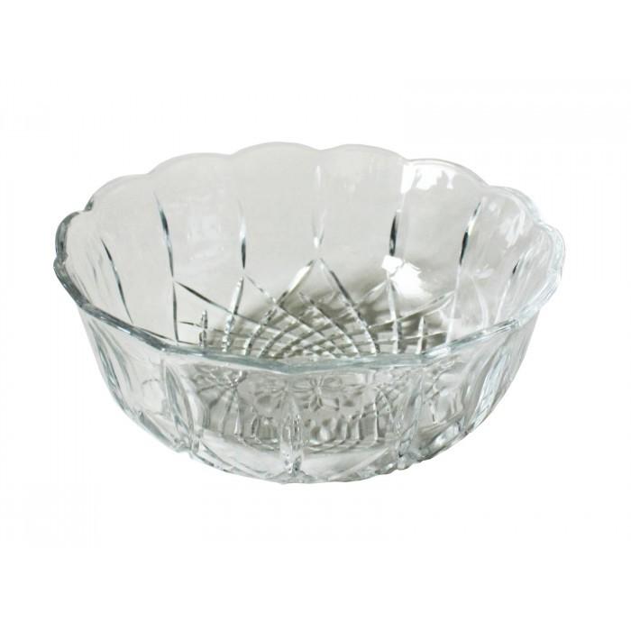 Стъклена купа с форма на цвете Т5-515 / 16см