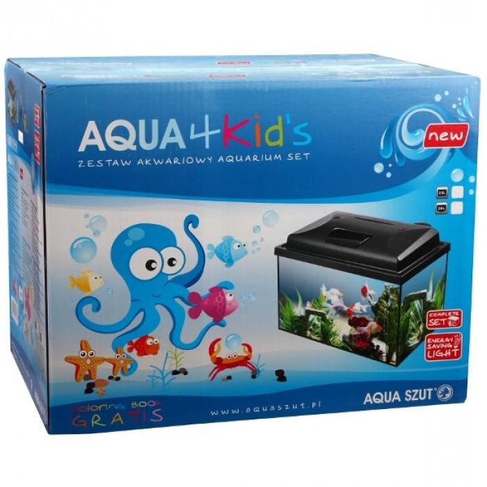 Аквариум Aqua 4 kids 40 правоъгълен 40x25x25см / 25л