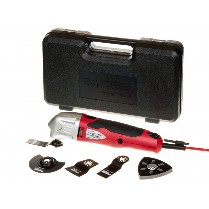 Многофункционален инструмент Raider RD-OMT01 / 280W + аксесоари
