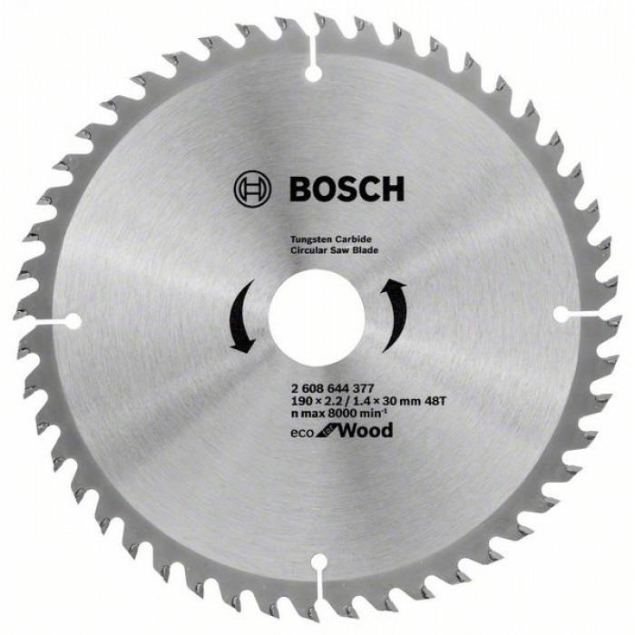 Циркулярен диск за рязане Bosch 190мм 48T