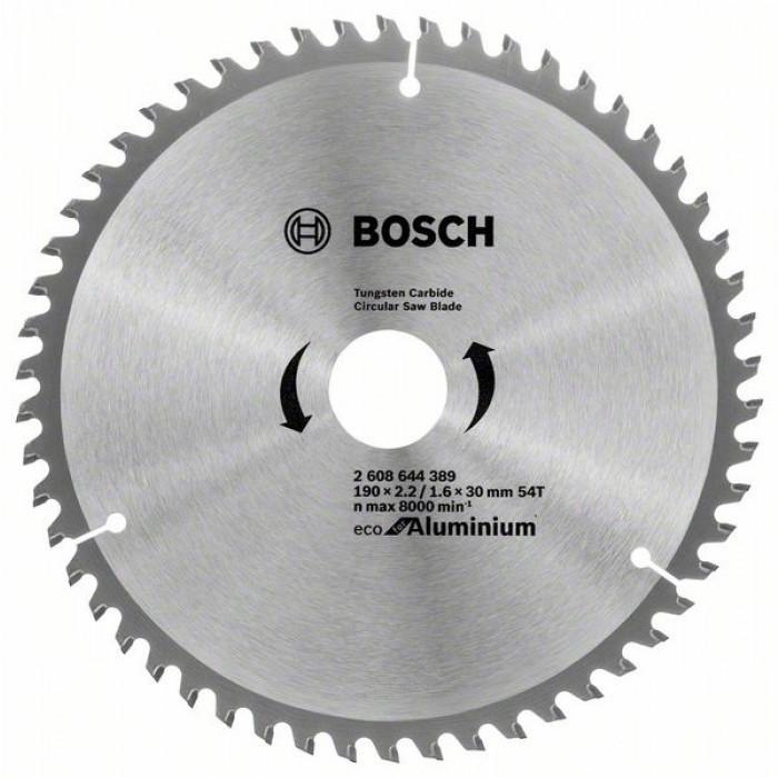 Циркулярен диск за рязане Bosch 190мм 54T