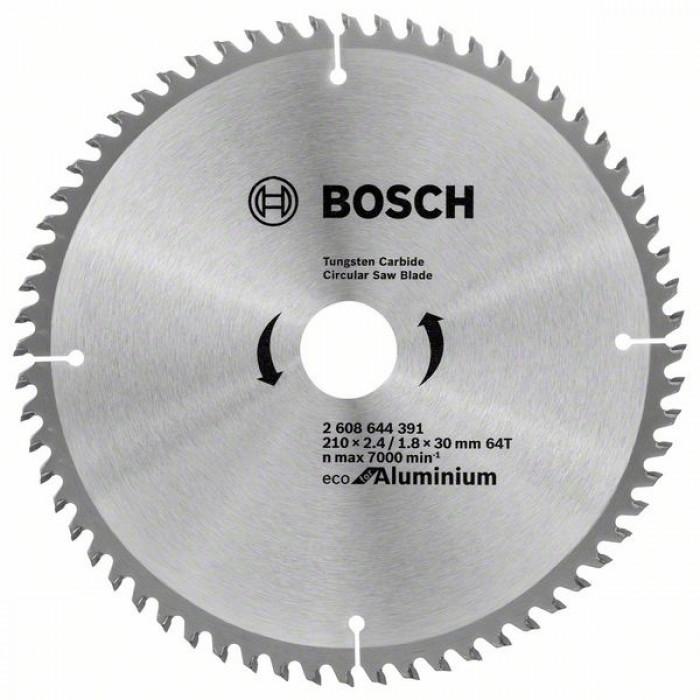 Циркулярен диск за рязане Bosch 210мм 64T