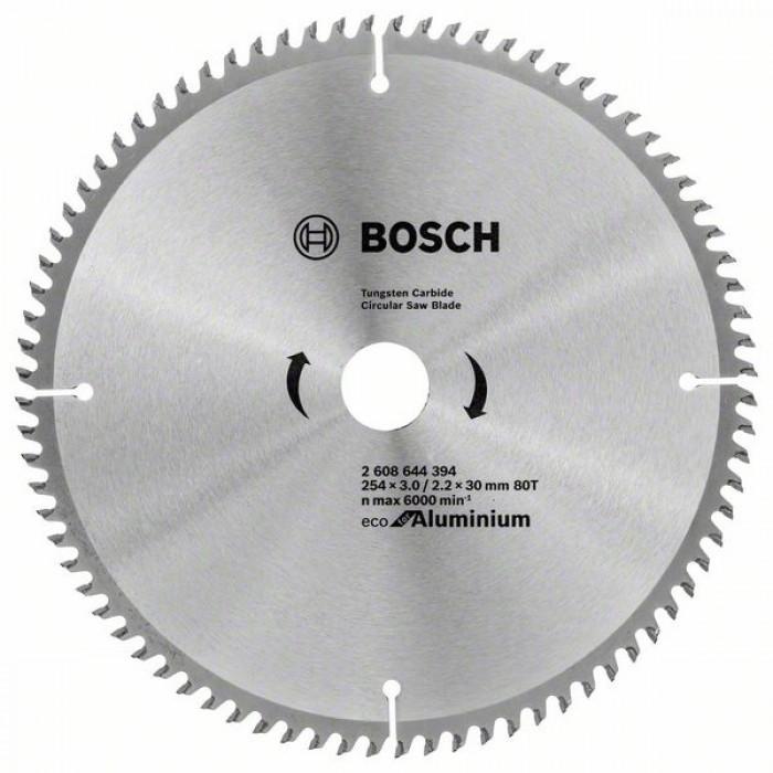 Циркулярен диск за рязане Bosch 254мм 80T