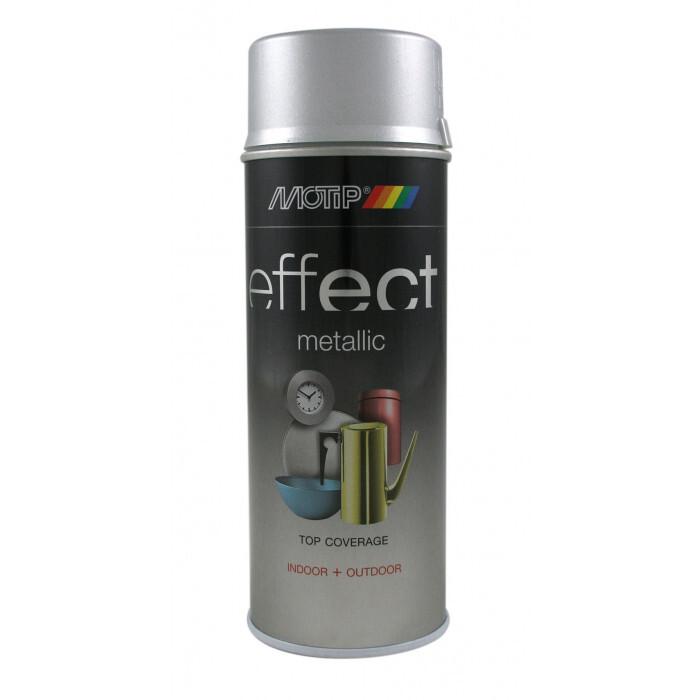 Боя спрей Motip сребърен ефект брилянт 400мл