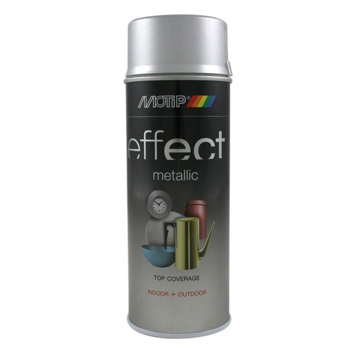 Боя спрей Motip сребърен ефект 400мл