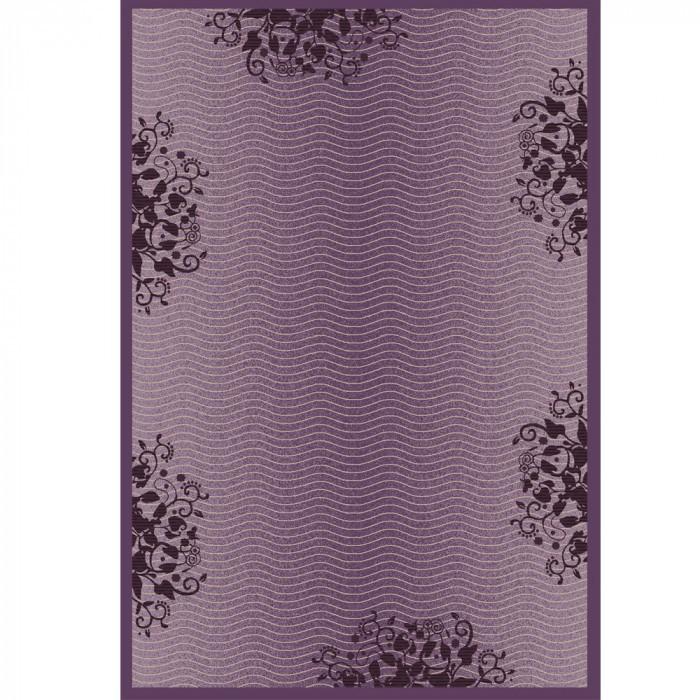 Мокетен килим  хромоджет 015 лилав 160х240см