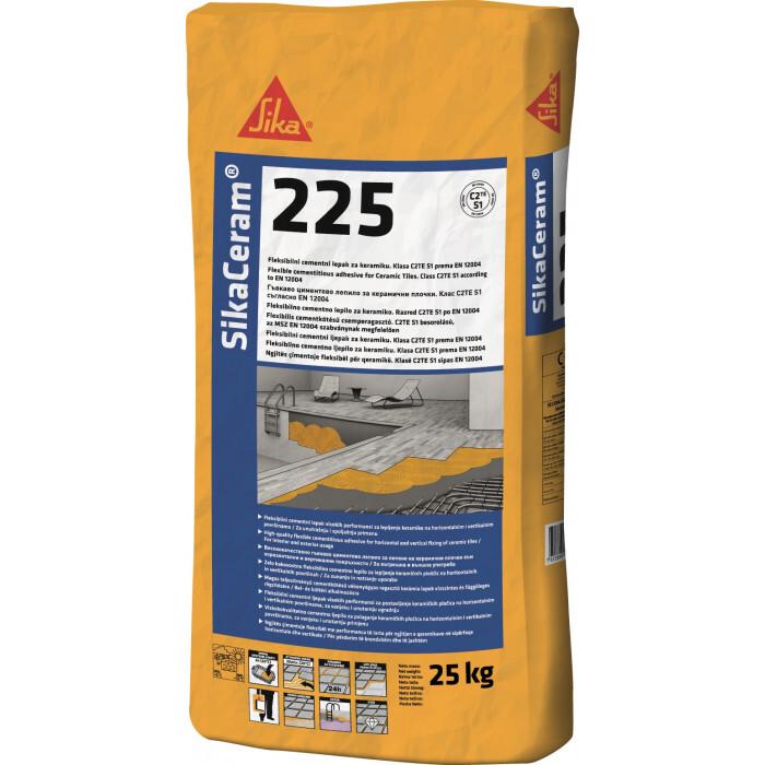 Циментово лепило за плочки Sika Церам 225 / 25 kg