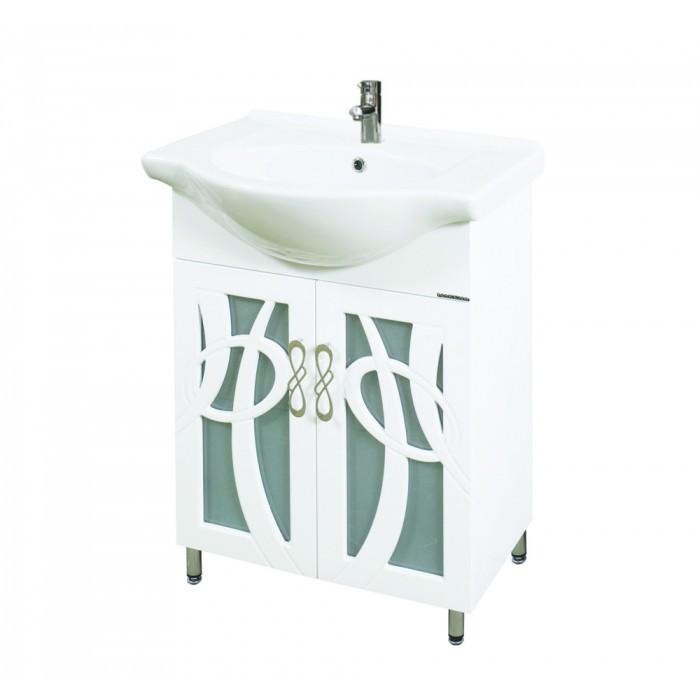 Долен шкаф за баня с мивка Макена Тито