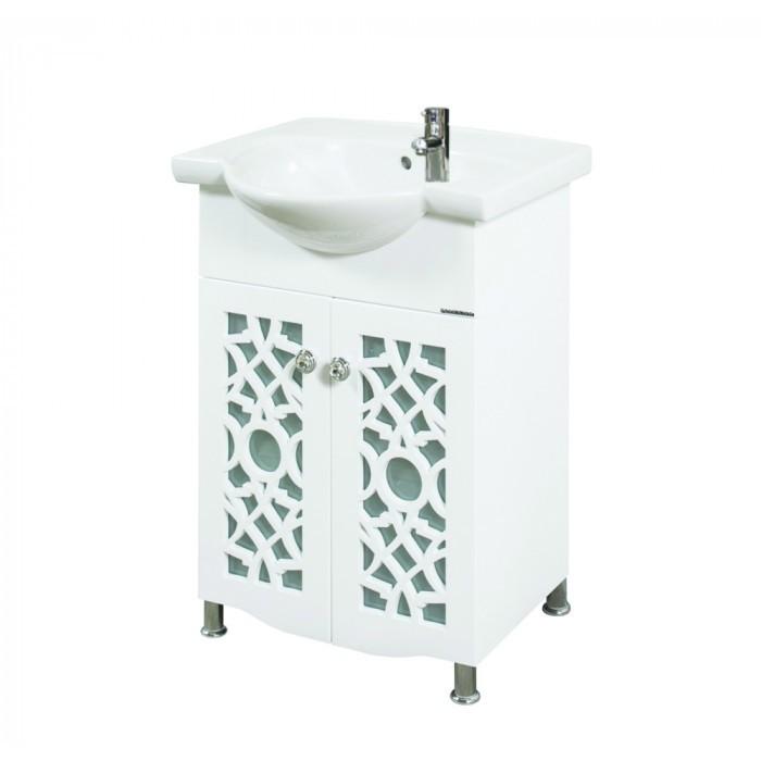 Долен шкаф за баня с мивка Макена Каролина