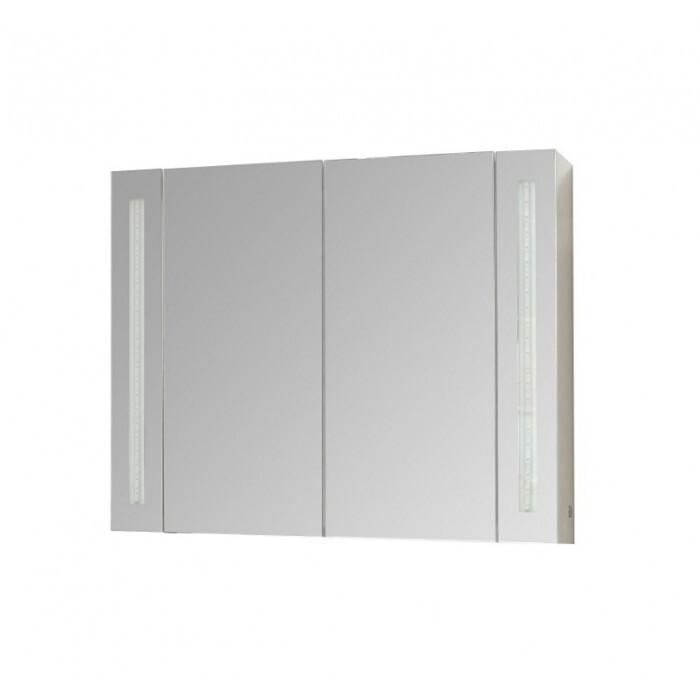 Горен PVC шкаф за баня с огледало Макена Емили