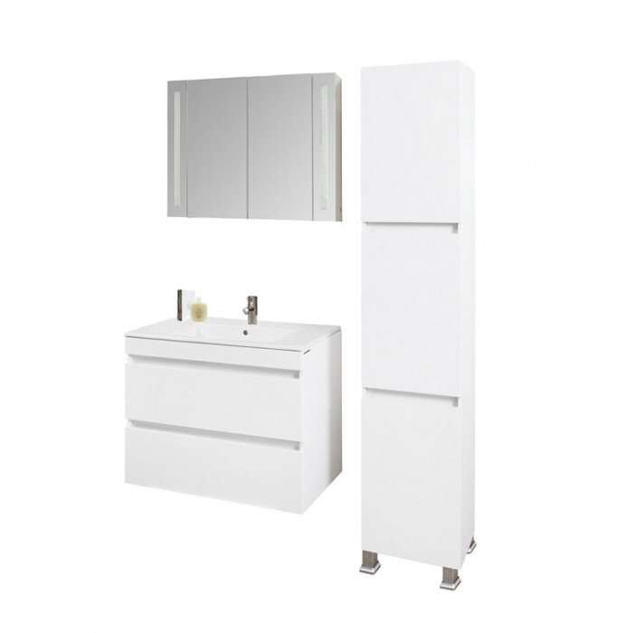 Шкаф за баня тип колона Макена Емили