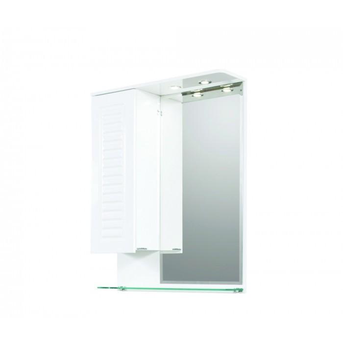 Горен PVC шкаф за баня с огледало Макена Мадрид