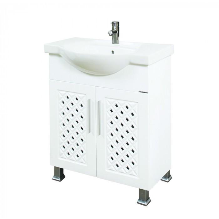 Долен шкаф за баня с мивка Макена Хера