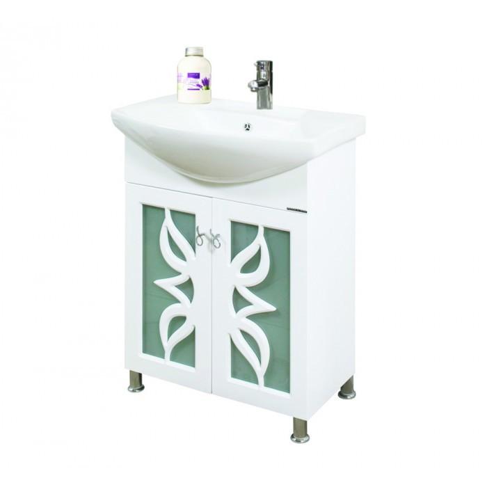 Долен шкаф за баня с мивка Макена Лоли