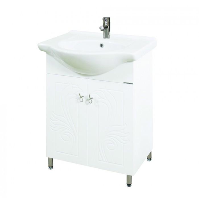 Долен шкаф за баня с мивка Макена Монако