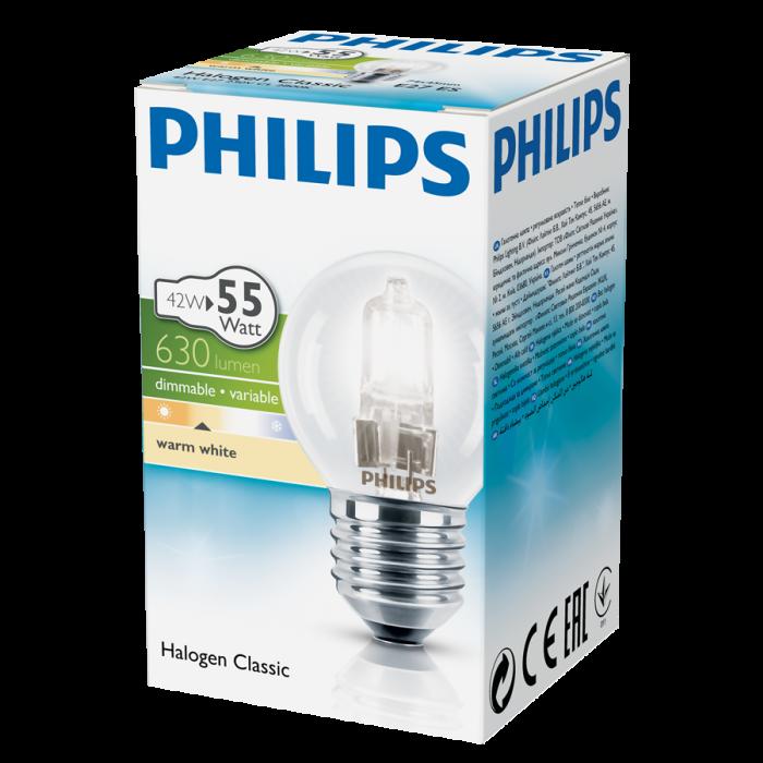 Халогенна крушка Philips мини глобус