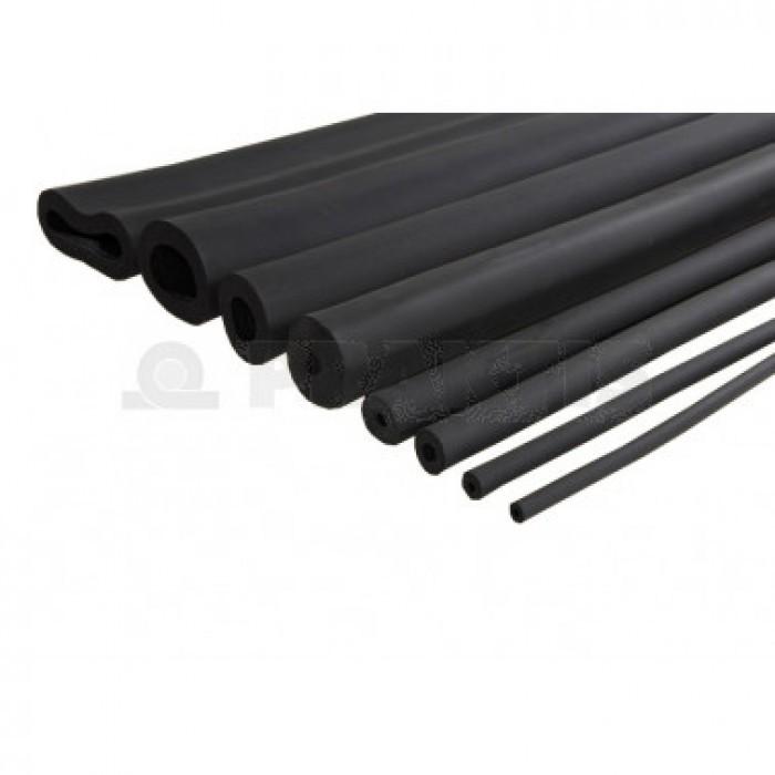 Изолационна тръба 2м черна Ф28*9мм