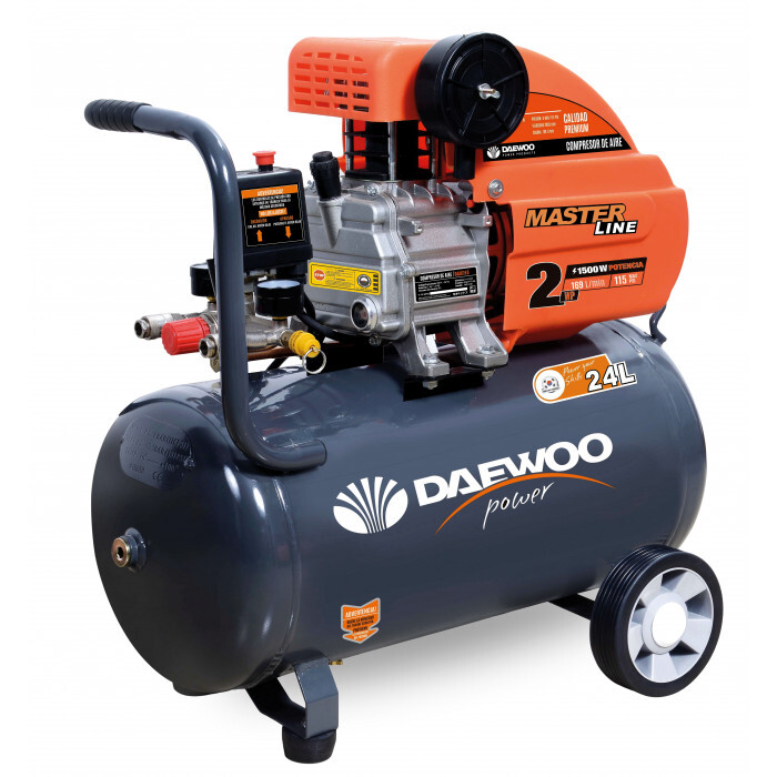 Бутален компресор Daewoo DAAC24D, 2hp/1.5 kW