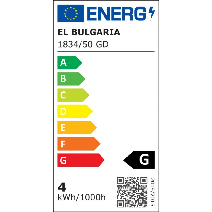 LED плафониера EL 1834/50 GD