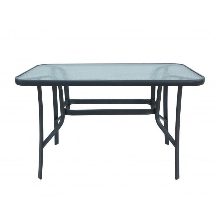 Градинска маса с удароустойчиво стъкло SC-094 120х70х70cm