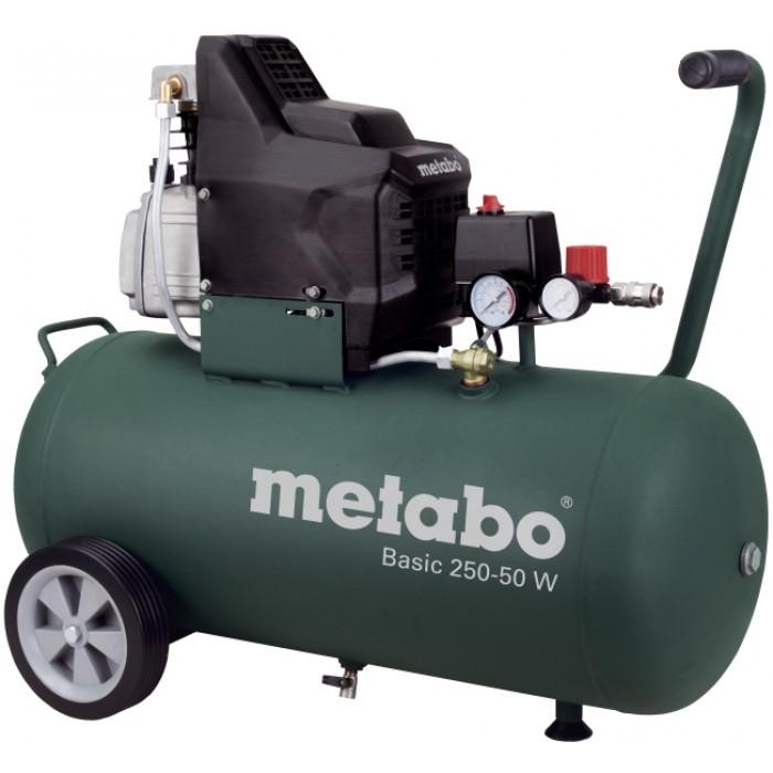 Компресор под наем Metabo Basic 50L 1.5kW 250-50W