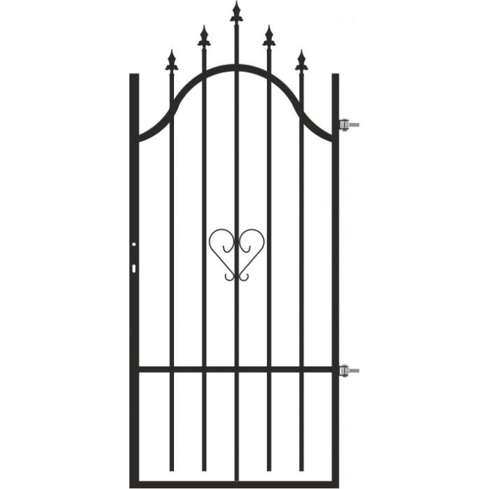 Оградна врата Сердика дясна 0.9х1.70-2.00м