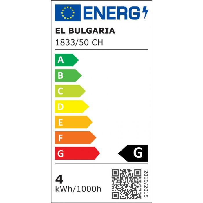 LED плафон EL 1833/50 CH