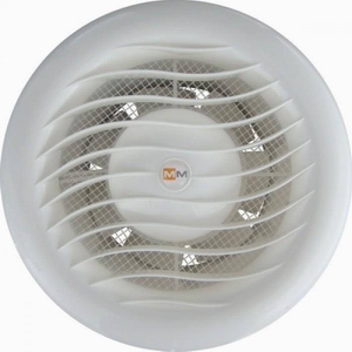 Кръгъл вентилатор за баня с клапа МТВ 100 / 11W