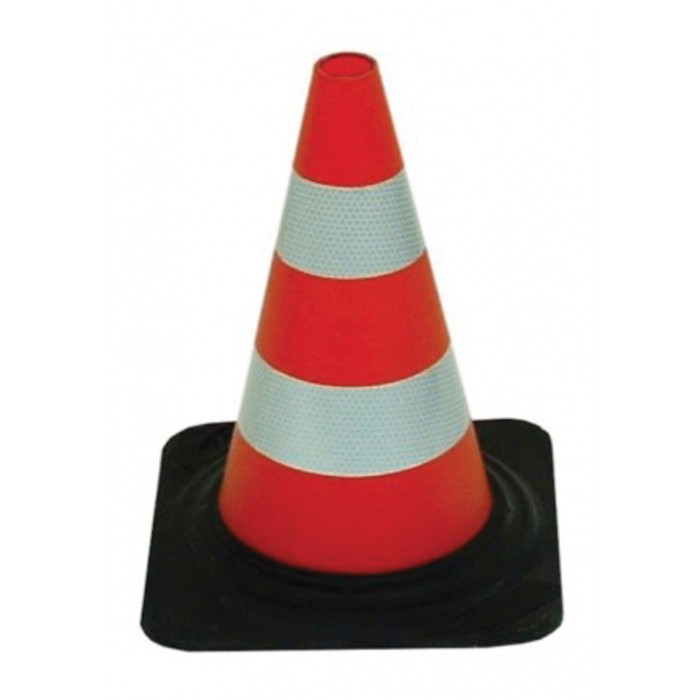 Гумен сигнален конус Cone 790002 / 30см