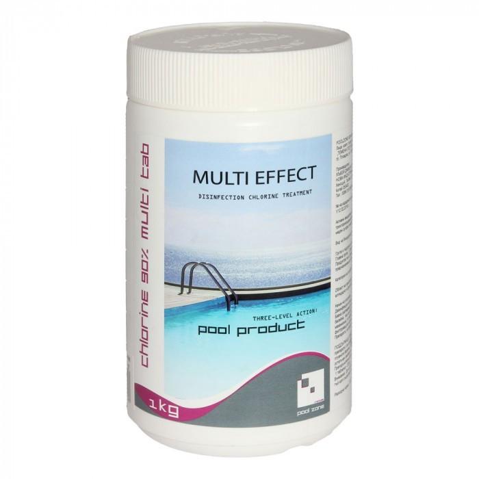 Мултифункционални таблетки за басейн 200г