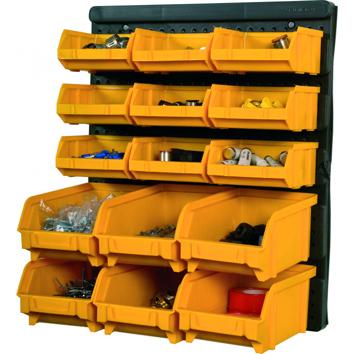 PVC панел 32.3х1.7х38.5 + 9/6 броя стифиращи контейнери
