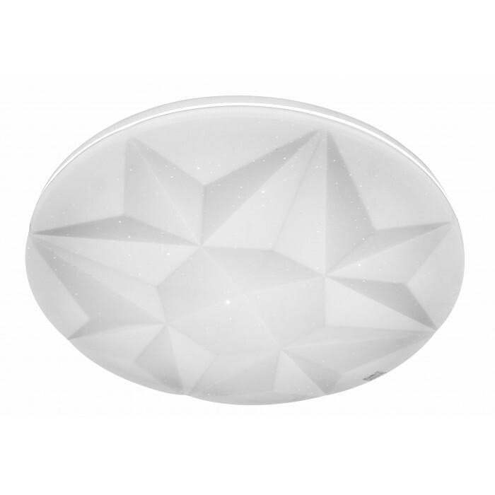 LED плафон Lightex Circon бял 36W