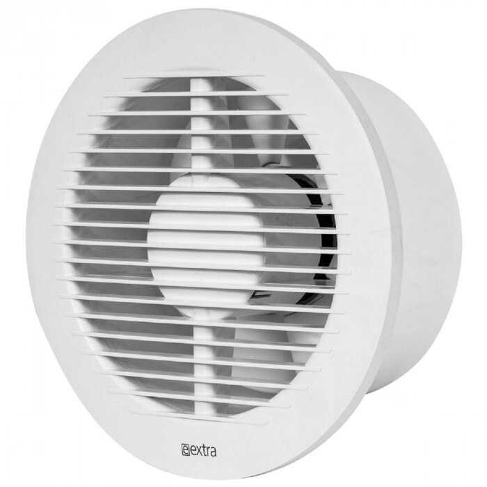 Вентилатор Europlast Extra кръгъл ø125мм лагеруван 16W