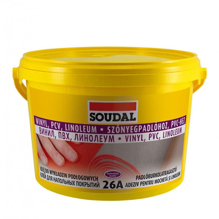 Лепило за подови настилки Soudal 26А 5 кг