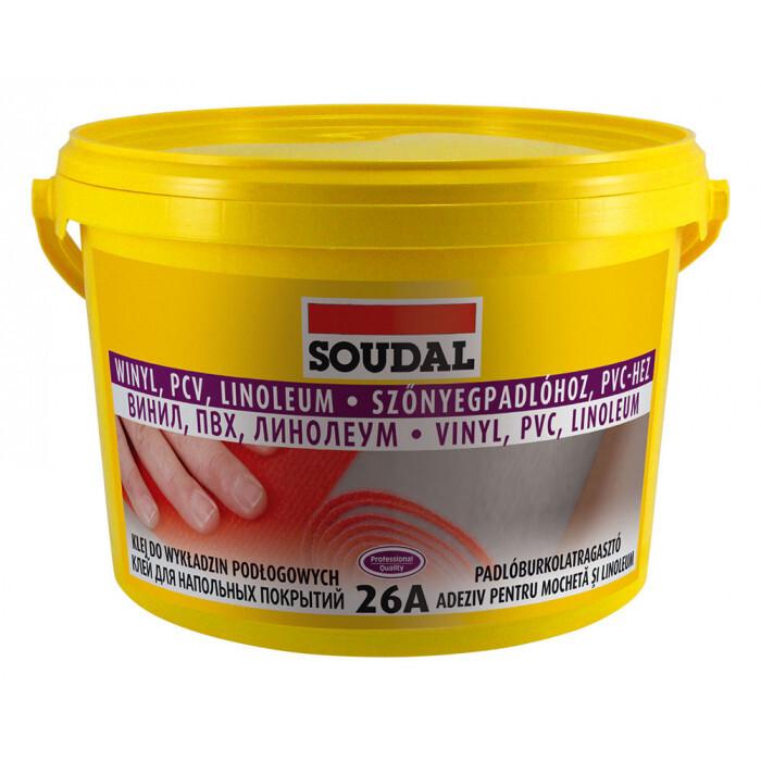 Лепило за подови настилки Soudal 26А / 15 кг