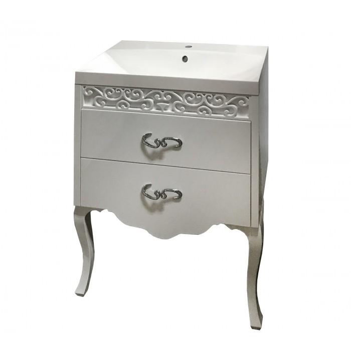 Долен шкаф за баня Макена с мивка Елинор