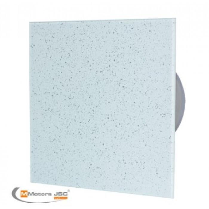 Квадратен вентилатор за баня ММР 100 06 бяло/сиво 13W