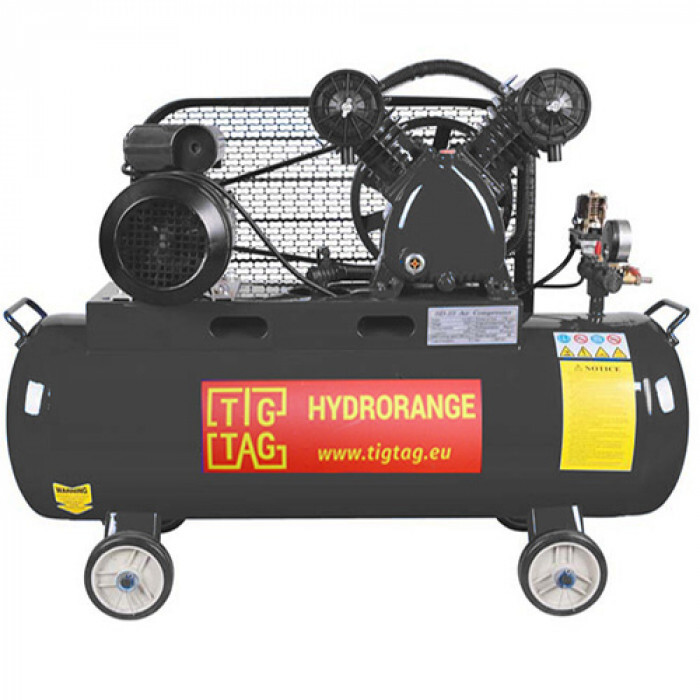 Компресор за сгъстен въздух TigTag XY-2065A 100L 2200W