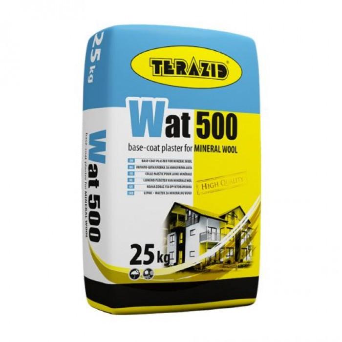 Хидрофобизирана лепило-шпакловка за минерална вата WAT 500 / 25кг