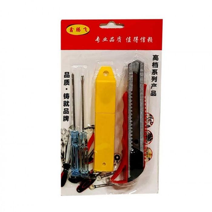 Отвертки 2 броя + макетен нож с резерви Т14-668