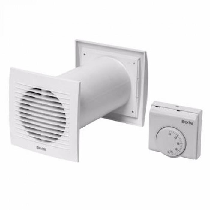 Комплект за вентилация с термостат Europlast SPKT100 / ф100