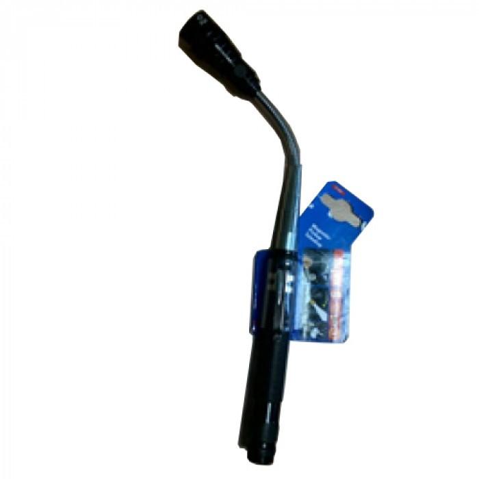 LED фенерче с магнит + телескопична гъвкава глава Unitec