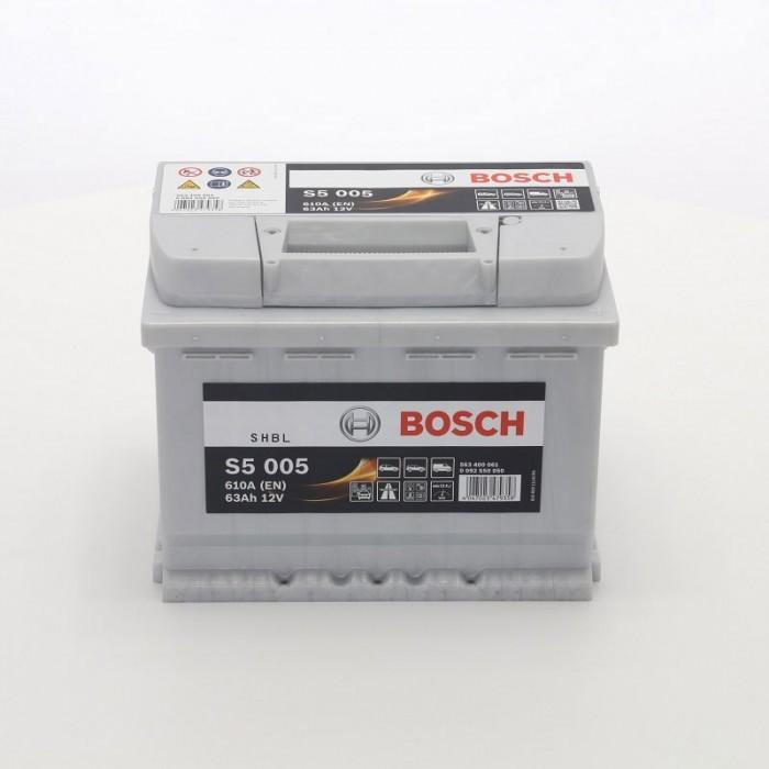 Стартерен акумулатор Bosch Silver S5 63Ah / 12V