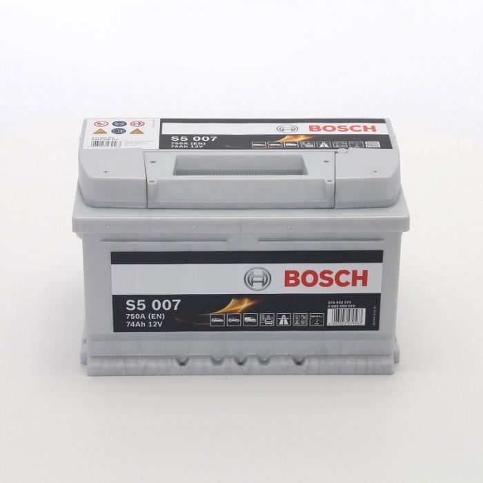 Стартерен акумулатор Bosch S5 74Ah 12V 750A