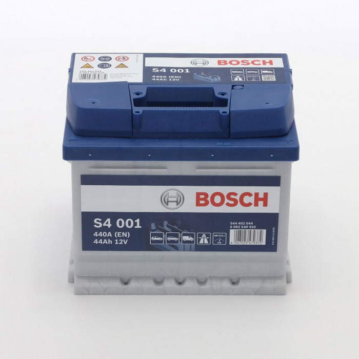 Стартерен акумулатор Bosch S4 44Ah / 12V