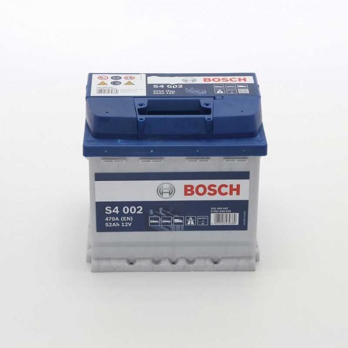 Стартерен акумулатор Bosch S4 52Ah 12V