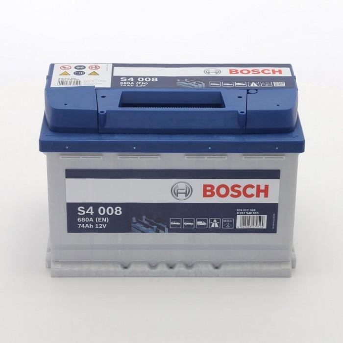 Стартерен акумулатор Bosch S4 74Ah / 12V