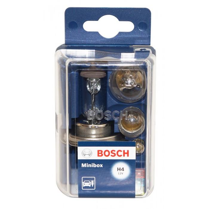 Комплект крушки Bosch Minibox H4